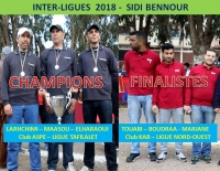 Rapport Coupe Inter-Ligues du 03 et 04/03/2018